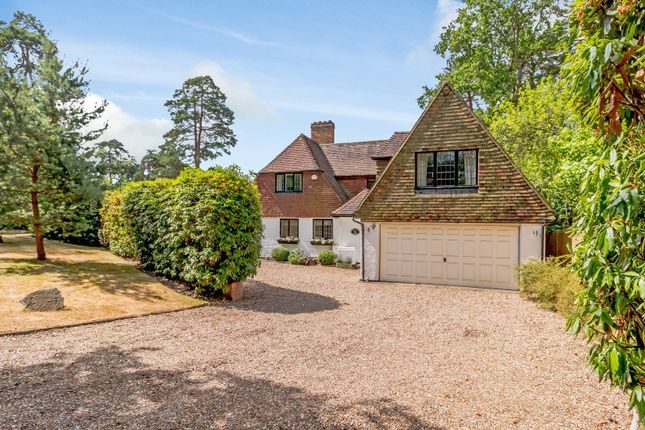 Thumbnail Detached house to rent in Golf Club Road, St. Georges Hill, Weybridge