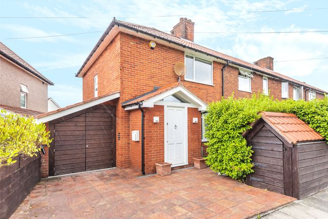 Thumbnail End terrace house for sale in Merevale Crescent, Morden, Surrey