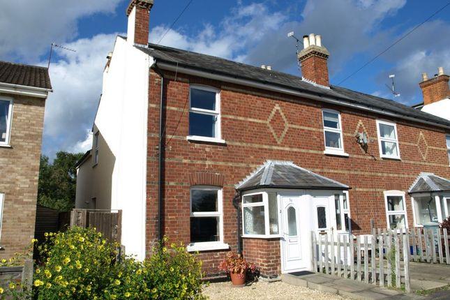 Thumbnail End terrace house to rent in Cross Street, Farnborough
