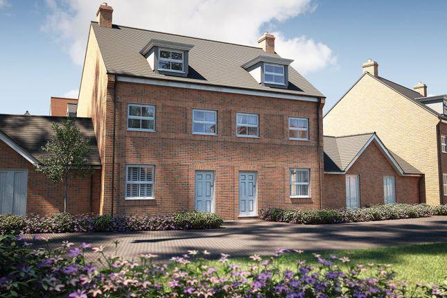 Thumbnail Semi-detached house for sale in Stocks Lane, Winslow, Buckingham