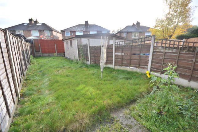 Garden of Hampden Road, Prestwich, Manchester M25