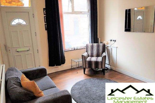 Thumbnail Flat to rent in Western Road, Leicester