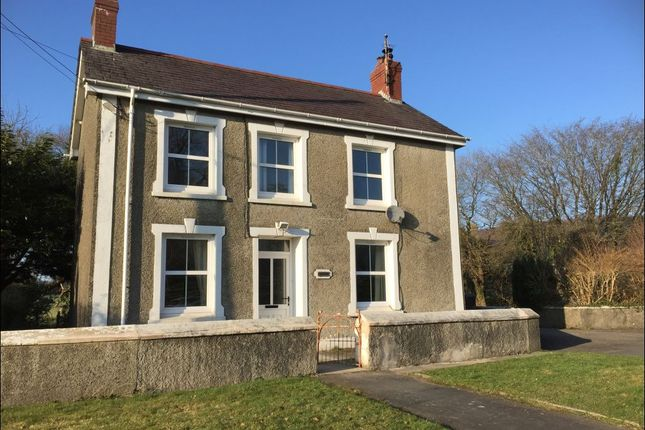Thumbnail Detached house to rent in Llangybi, Lampeter