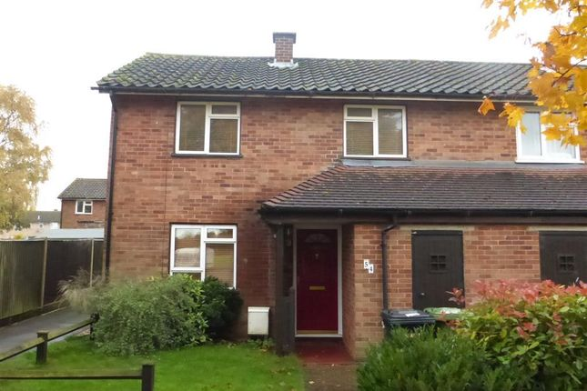 Thumbnail End terrace house to rent in St Marys Avenue, Wittering, Peterborough