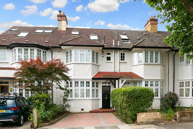 Thumbnail Terraced house to rent in Muirdown Avenue, East Sheen