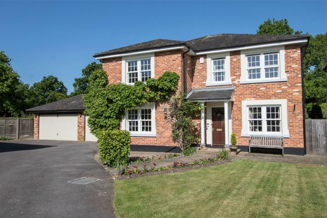 Thumbnail Detached house for sale in Winchfield Court, Winchfield, Hook
