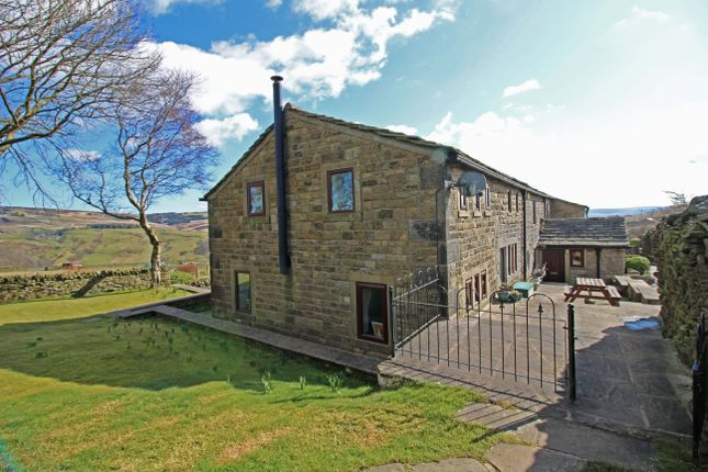 Thumbnail Farmhouse for sale in Tower Causeway, Todmorden