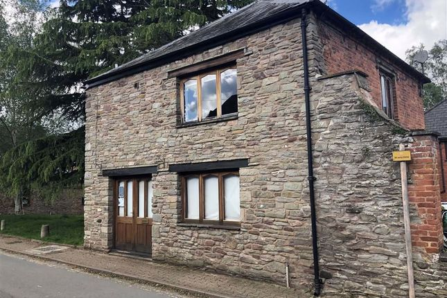 1 bed detached house for sale in Brook Street, Hay-On-Wye, Herefordshire HR3