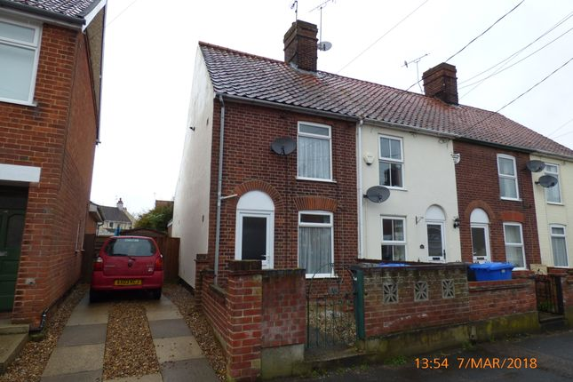Thumbnail End terrace house to rent in Pleasant Place, Beccles