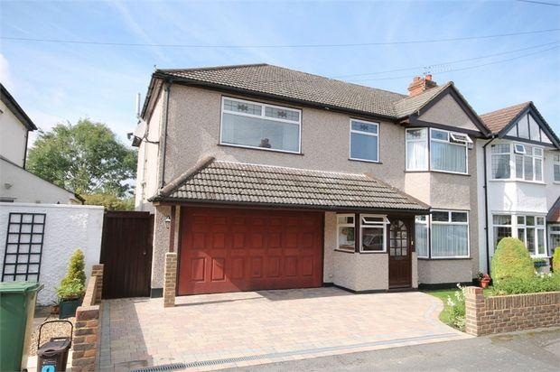 Thumbnail Semi-detached house for sale in Barrow Avenue, Carshalton, Surrey