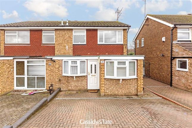 3 bed semi-detached house for sale in Wych Elms, St Albans, Hertfordshire