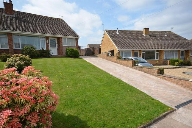Thumbnail Semi-detached bungalow to rent in Purcell Close, Broadfields, Exeter