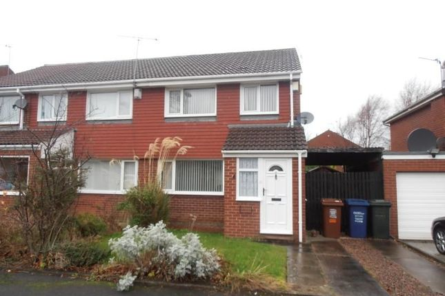 Thumbnail Semi-detached house to rent in Yeadon Court, Newcastle Upon Tyne