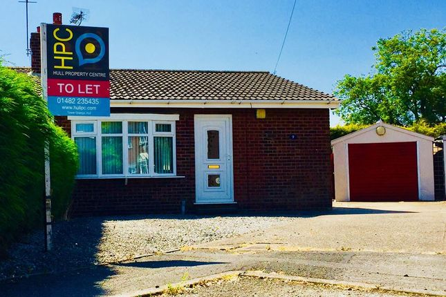 Thumbnail Bungalow to rent in Chestnut Close, Burstwick