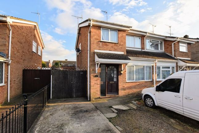 Thumbnail Semi-detached house for sale in Bettina Grove, Bletchley, Milton Keynes
