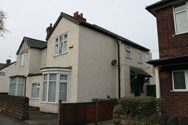 Thumbnail Semi-detached house to rent in Beeston Road, Dunkirk, Nottingham