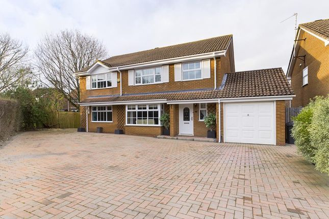 Thumbnail Detached house for sale in Greenbirch Close, Basingstoke