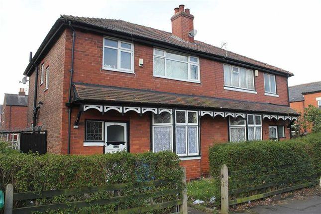 Thumbnail Semi-detached house for sale in Hamilton Road, Longsight, Manchester