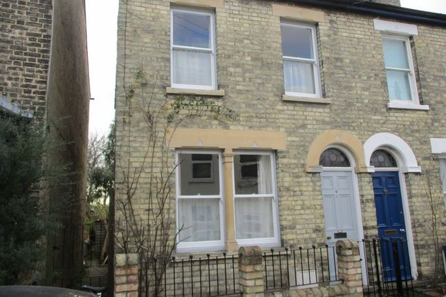 Thumbnail 2 bed terraced house to rent in Sleaford Street, Cambridge