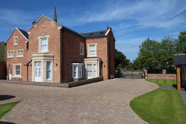 Thumbnail Detached house for sale in Church Street, Burbage, Hinckley