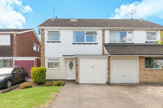 Thumbnail Semi-detached house for sale in Bury Close, Marks Tey, Colchester