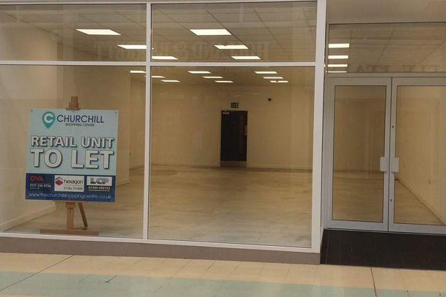 Thumbnail Retail premises to let in Unit 8, Churchill Shopping Centre, Dudley