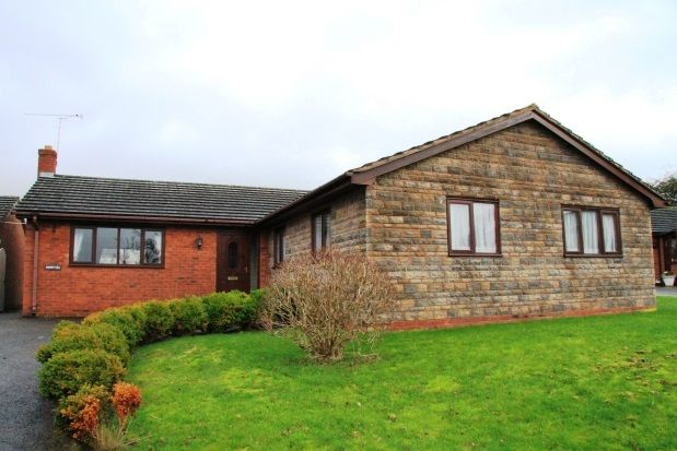 Thumbnail Detached bungalow to rent in Maes Hyfryd, Ruthin
