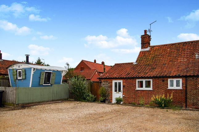Thumbnail End terrace house for sale in Holt Road, Field Dalling, Holt
