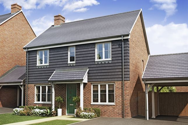 "Thumbnail Detached house for sale in ""The Chedworth"" at High Street, Newington, Sittingbourne"