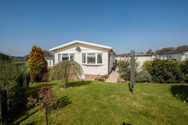 Thumbnail Mobile/park home for sale in 19 The Dell, Caerwnon Park, Builth Wells