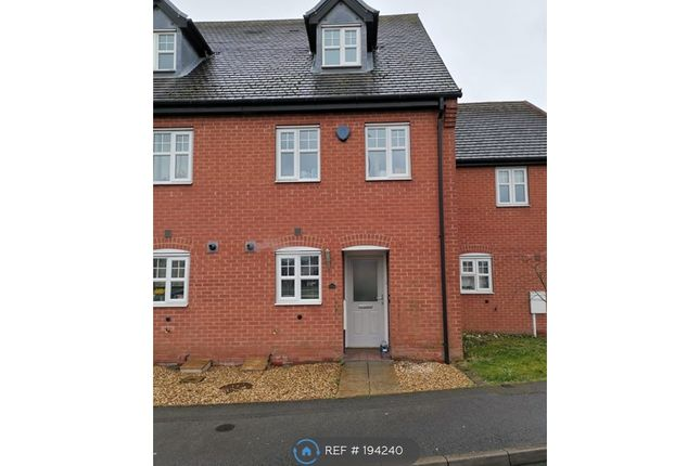 Thumbnail Terraced house to rent in Donington Drive, Woodville, Swadlincote