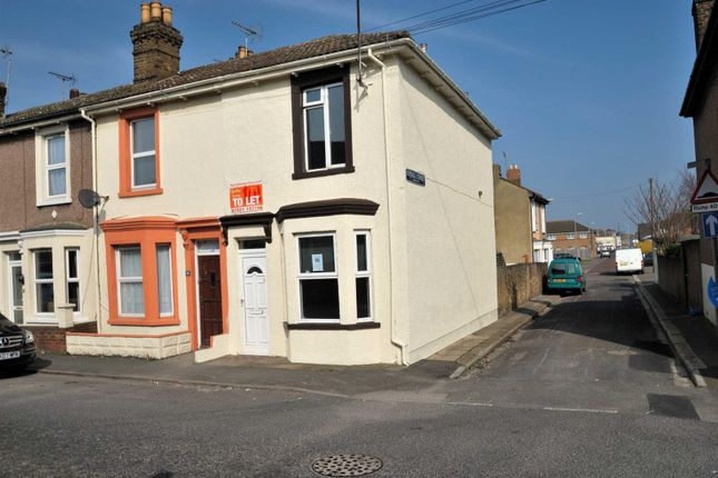 Thumbnail End terrace house to rent in Broad Street, Sheerness