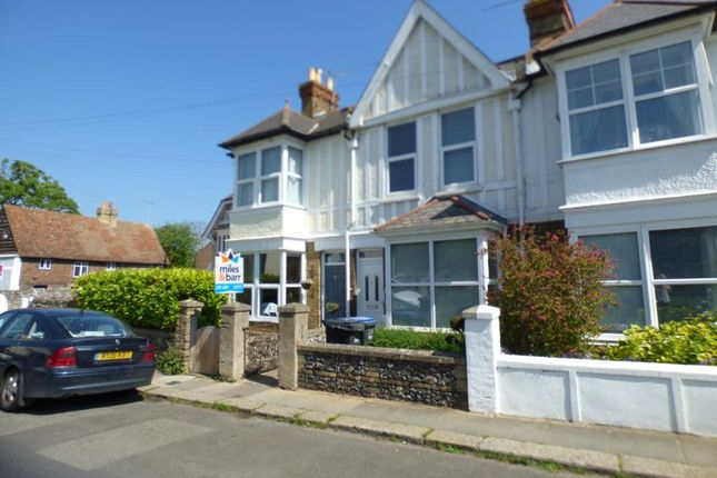 Thumbnail End terrace house to rent in Reading Street, Broadstairs