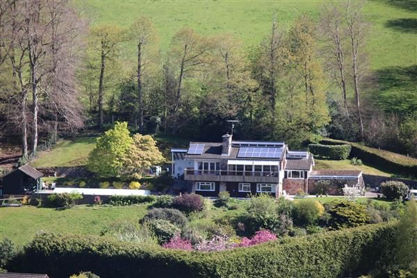 Thumbnail Detached house for sale in Coombe Lodge, Leys Hill, Ross-On-Wye