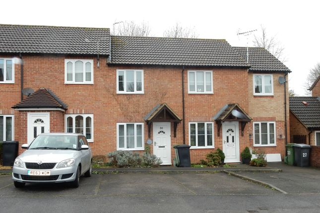 Thumbnail Terraced house to rent in Shalbourne Close, Hungerford