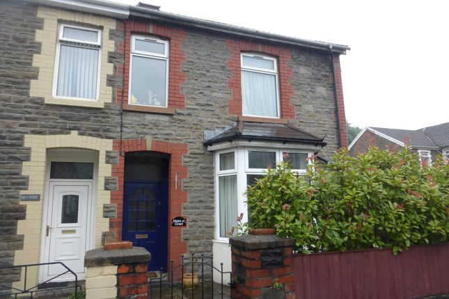 Thumbnail Semi-detached house for sale in Cardiff Road, Rhydyfelin, Pontypridd
