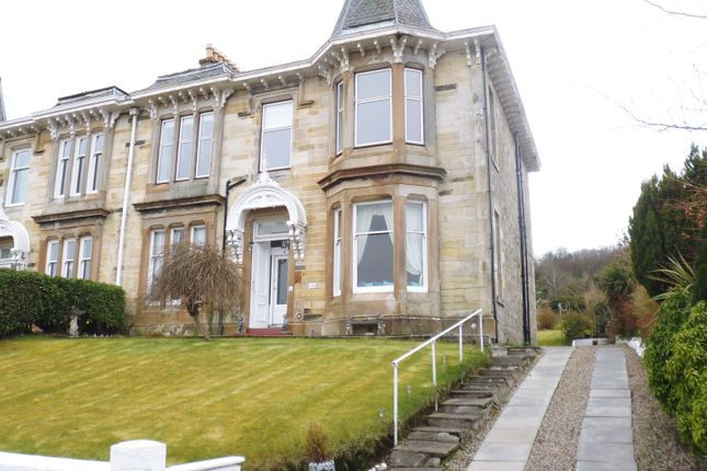 Thumbnail Duplex for sale in 14, Crichton Road, Rothesay, Isle Of Bute