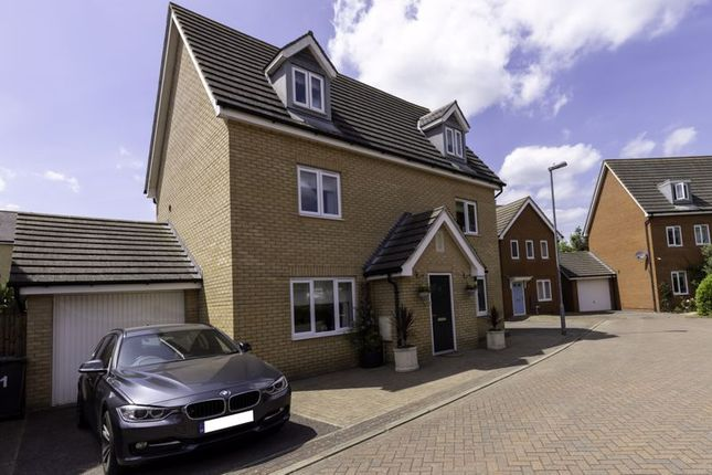 Thumbnail Detached house for sale in Blenheim Close, Upper Cambourne, Cambridge