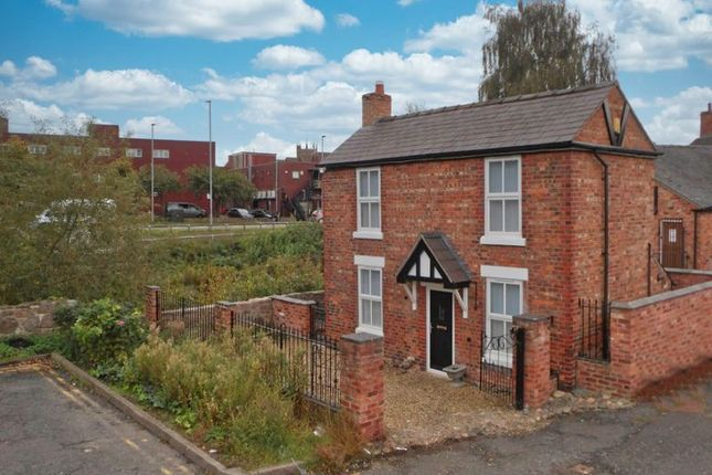 Thumbnail Detached house for sale in First Wood Street, Nantwich, Cheshire