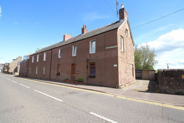 Front View of Queen Street, Coupar Angus, Perthshire PH13