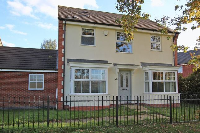 Thumbnail Link-detached house for sale in Percival Way, Groby, Leicester LE6, Groby,