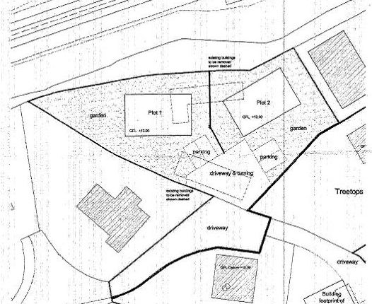Thumbnail Land for sale in Adjoining 8 Trevingey Parc, Redruth
