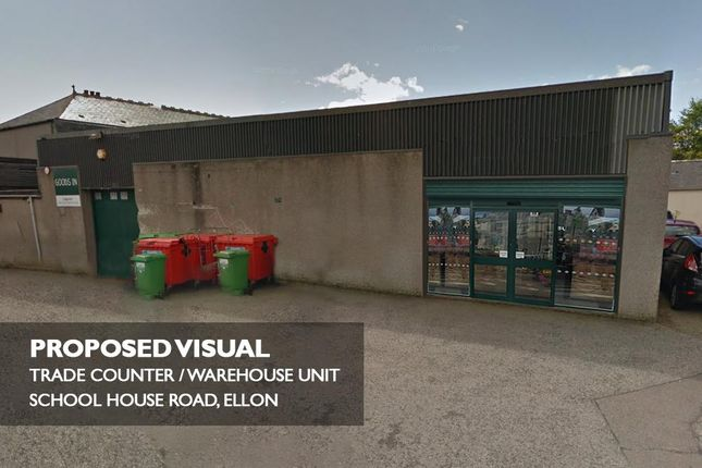 Thumbnail Industrial to let in Warehouse, Schoolhill Road, Ellon, Aberdeenshire