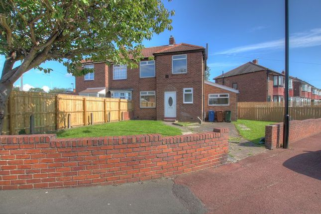 3 bed semi-detached house for sale in Broadwood Road, Denton Burn, Newcastle Upon Tyne