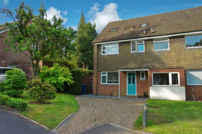 Thumbnail Semi-detached house for sale in Moorlands Close, Hindhead