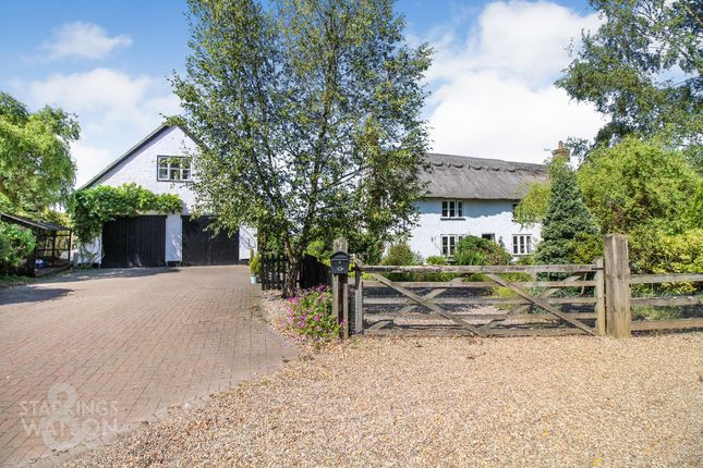 Thumbnail Cottage for sale in Squires Road, Halvergate, Norwich