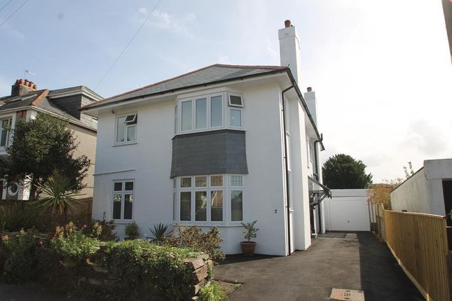 Thumbnail Detached house for sale in Tor Crescent, Hartley, Plymouth