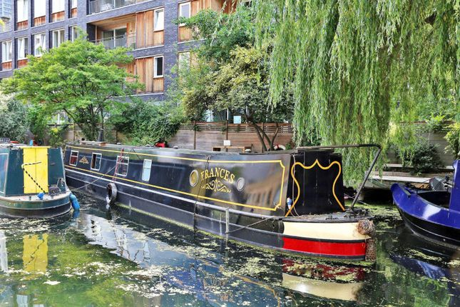 Thumbnail Houseboat for sale in Berth12, Wenlock Basin, Wharf Road, London