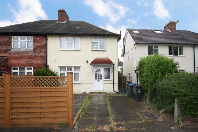 Thumbnail Semi-detached house to rent in Cambridge Road, Norbiton, Kingston Upon Thames