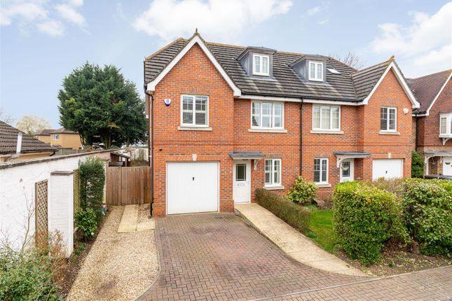 4 bed semi-detached house to rent in Cranbourne Close, Hersham, Hersham KT12